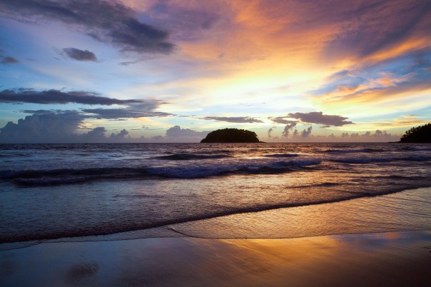 sunset,beach
